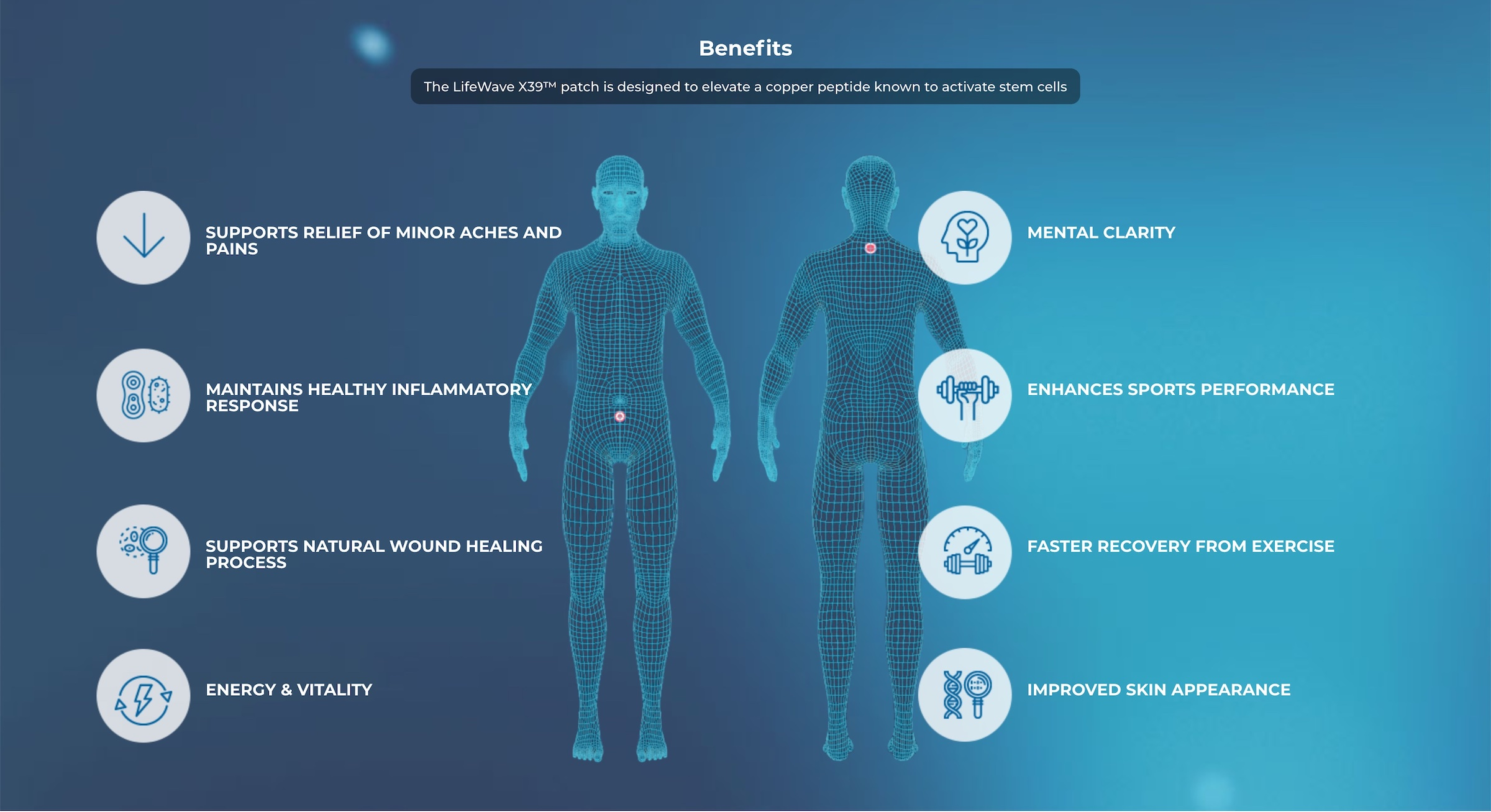 Benefits of using LifeWave X39 Stem Cell Activating patches | LifeWave